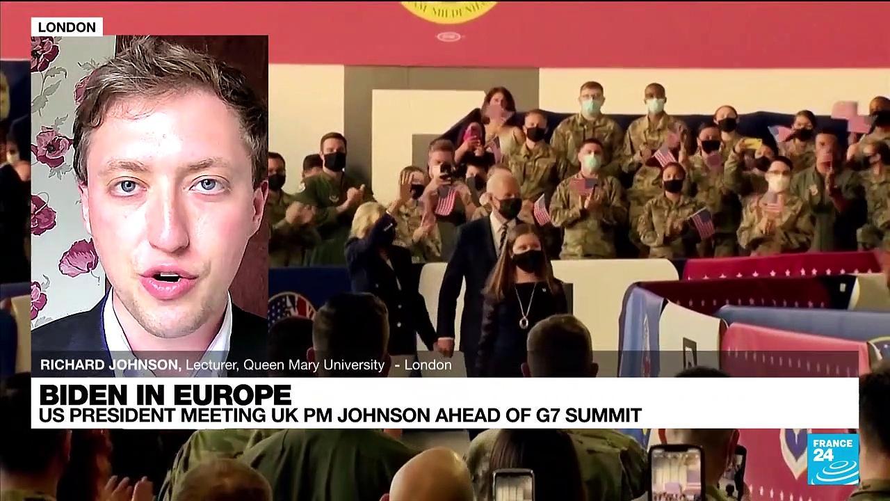 Biden in Europe, US president meeting UK PM Johnson ahead of G7 summit