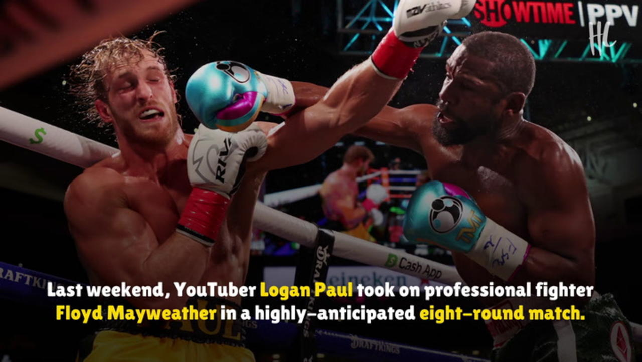 Logan Paul vs Floyd Mayweather Generated $50 Million in Sales