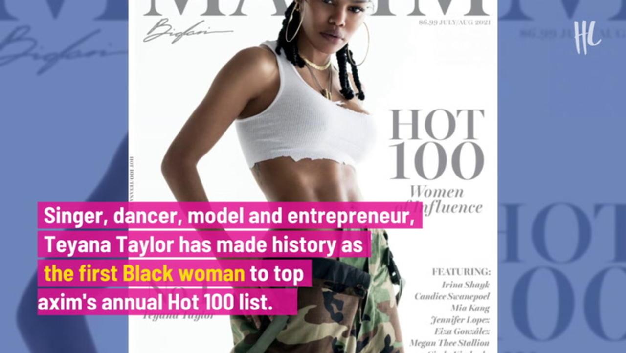 Teyana Taylor Looks Gorgeous As 'Maxim's 1st Black Sexiest Woman Alive