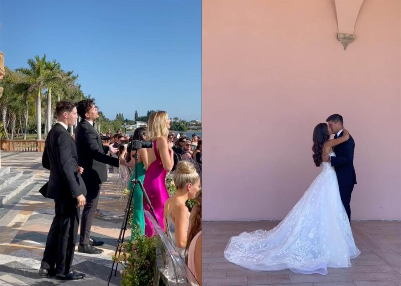 Bride's Awkward Flashmob Surprise