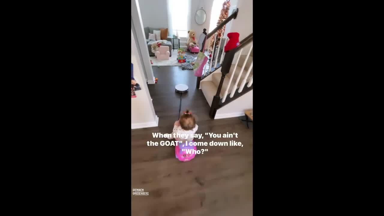 Go to your Roomba: Smart vacuum used for babysitting