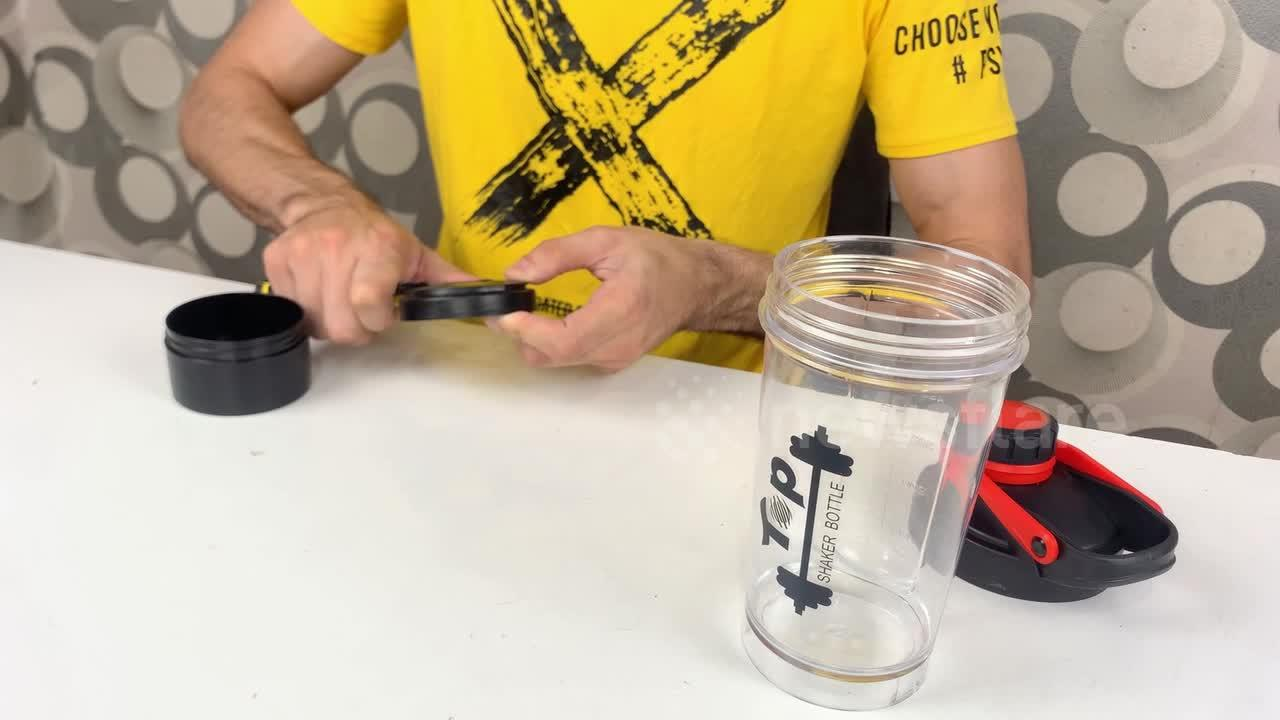 YouTuber shows how to turn a plastic drinks shaker into an awesome juicer