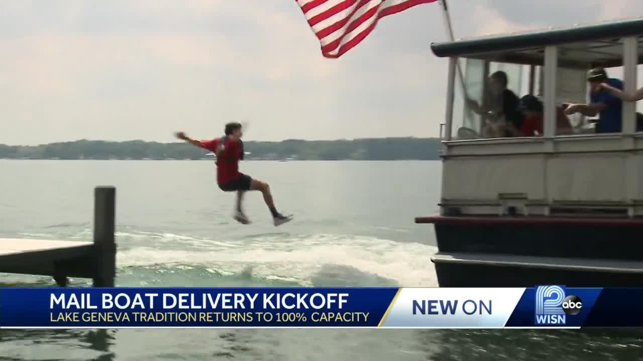 Lake Geneva mailboat jumper tryouts: 'I don't want to like splat on the window'