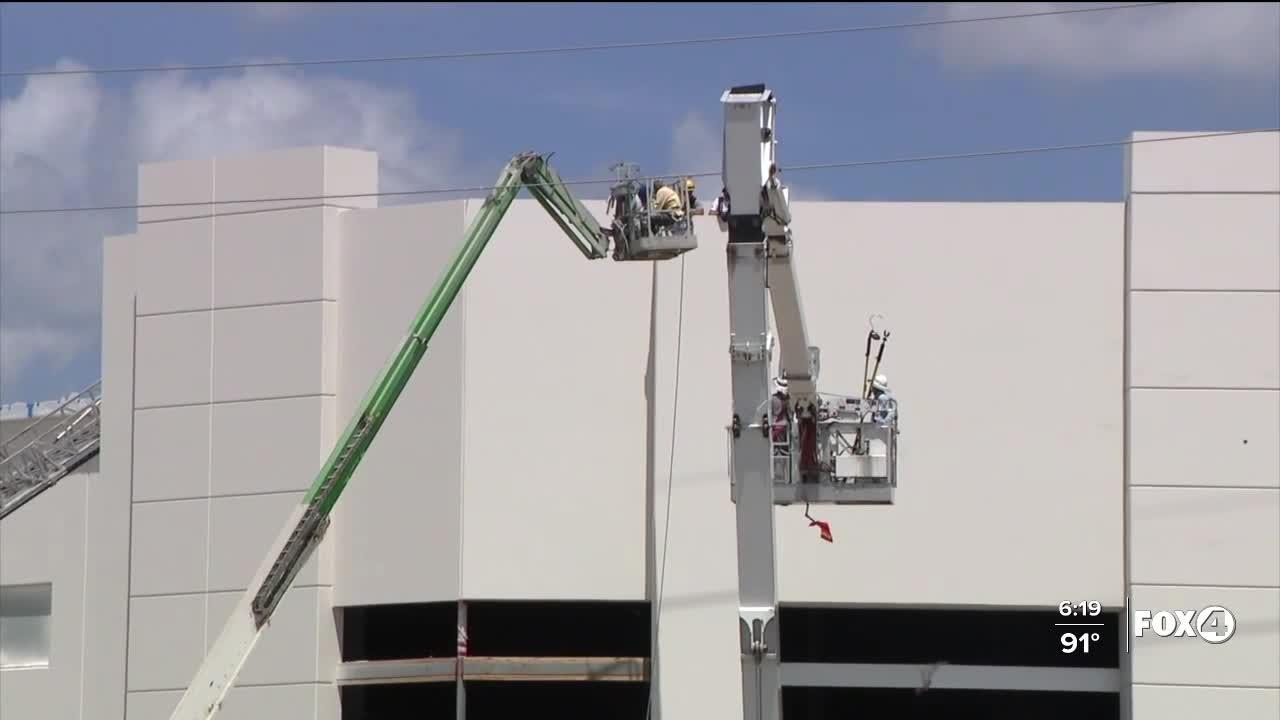 Two construction workers rescued in Orange County