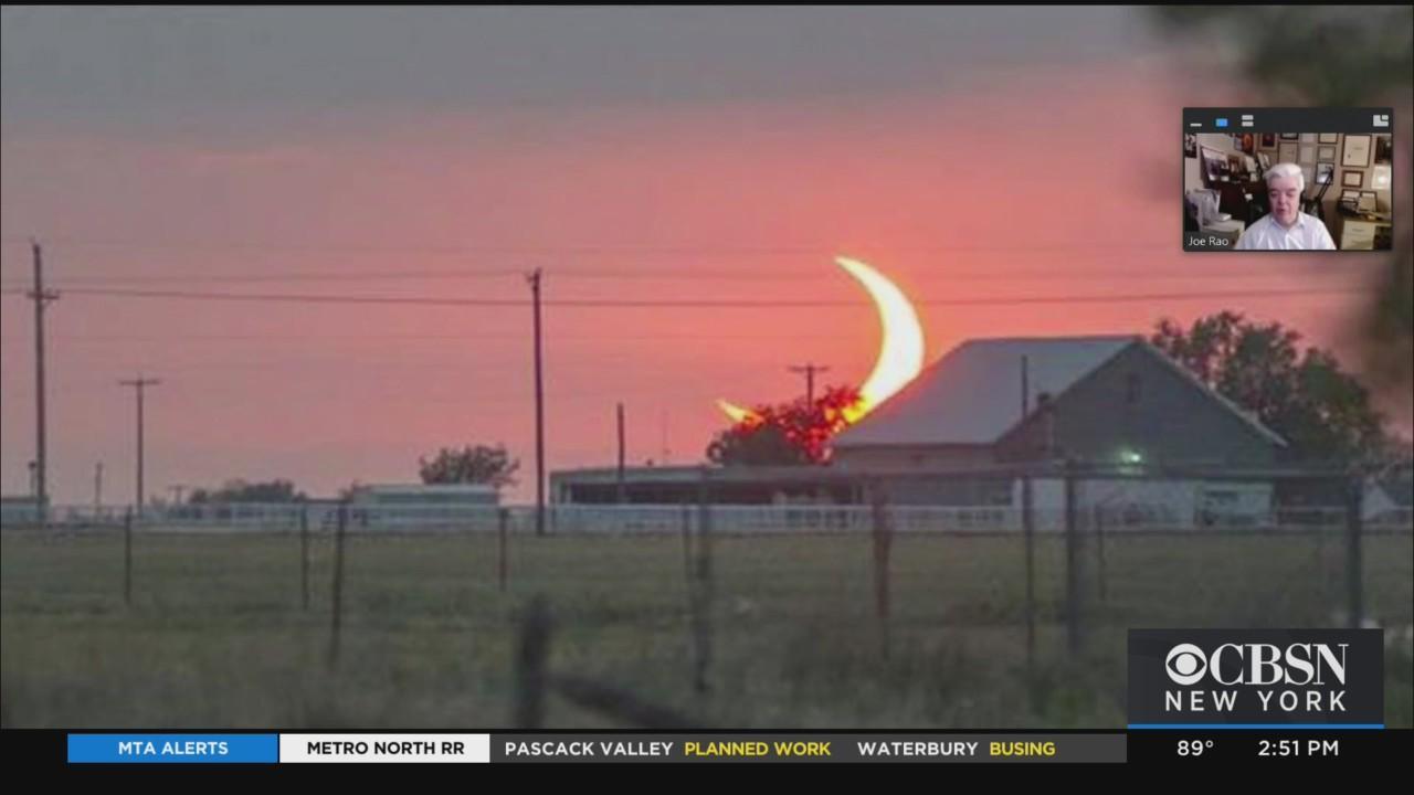 Hayden Planetarium Associate Astronomer Joe Rao Discusses Solar Eclipse