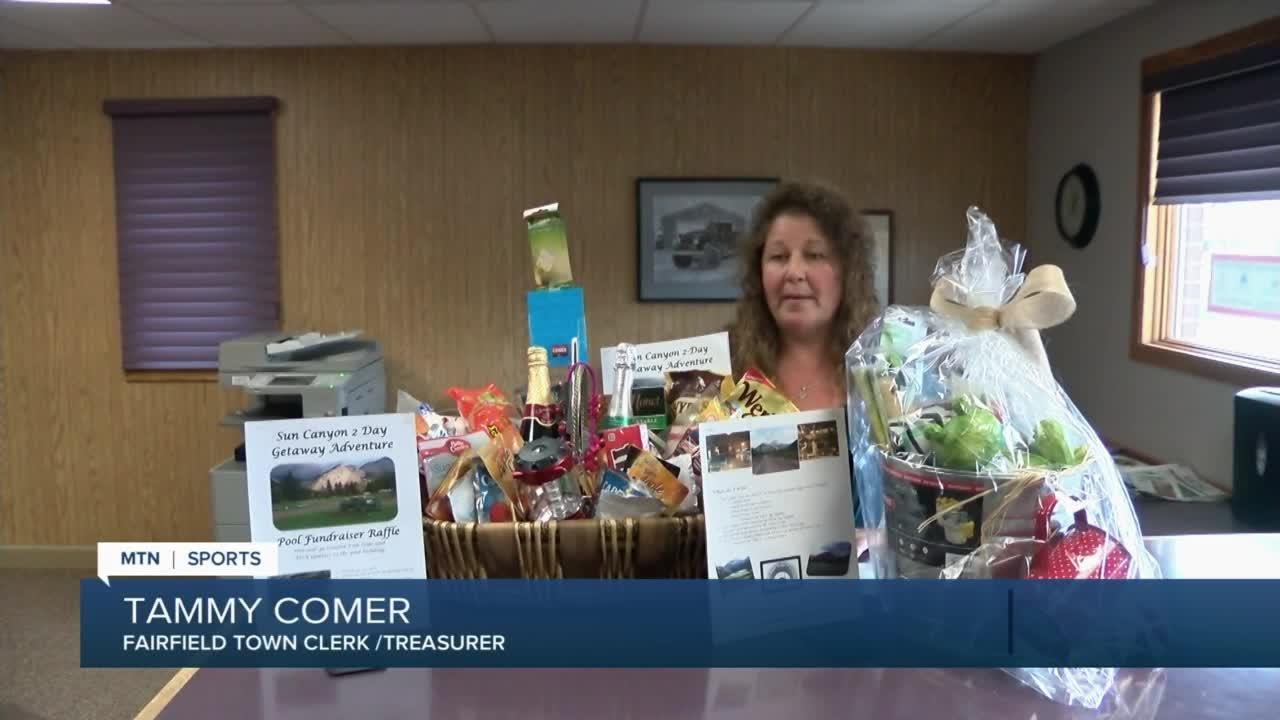 Fairfield community is fundraising with gift baskets for pool upgrade