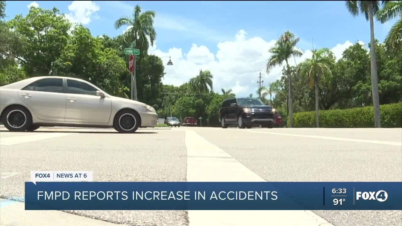 Fort Myers Police seeing increase in pedestrian involved accidents