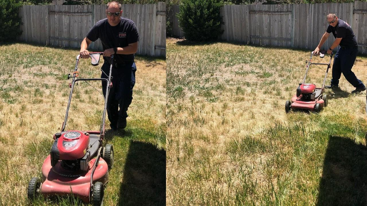 Kearns firefighters go the extra mile for resident