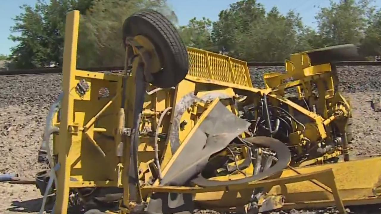 Woman Living Near Tracy Train Tracks Where Streetsweeper Was Killed Recounts Incident