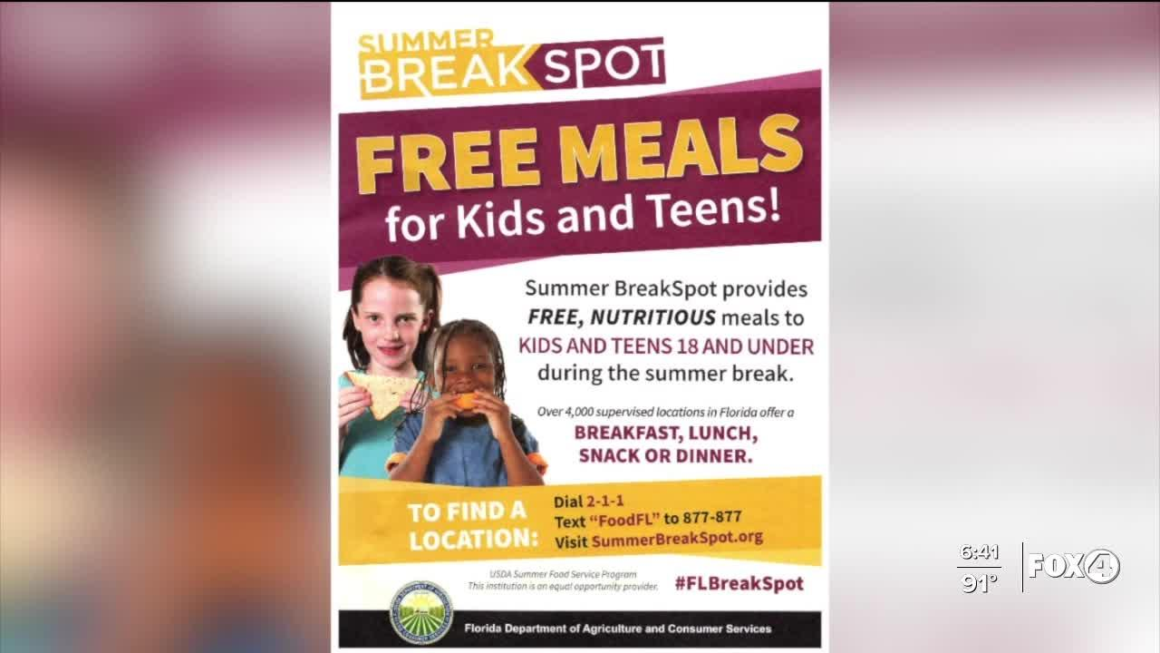 Charlotte County schools mobile free lunch program