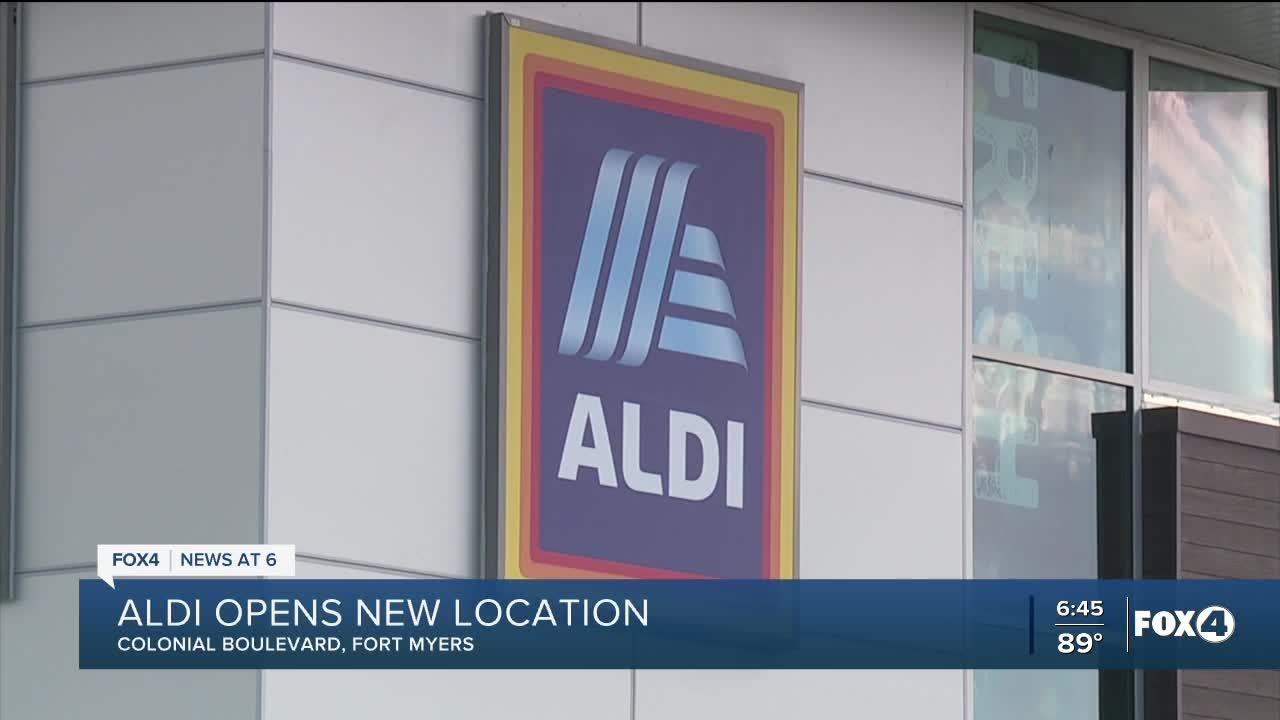 New Aldi store opening on Colonial Blvd. in Fort Myers