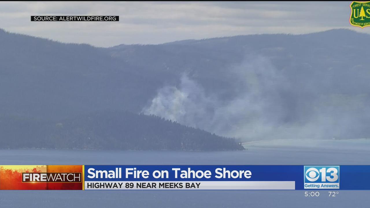 Firefighters Stop Forward Progress On Fire Near Lake Tahoe