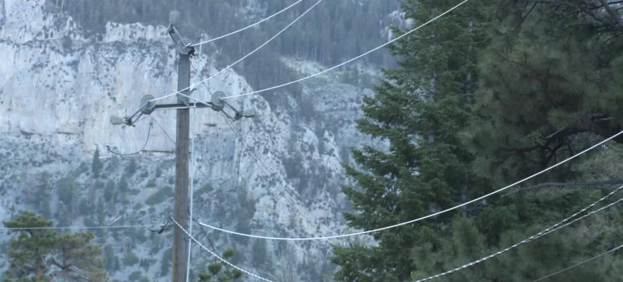 NV Energy monitoring fire weather conditions on Mt. Charleston
