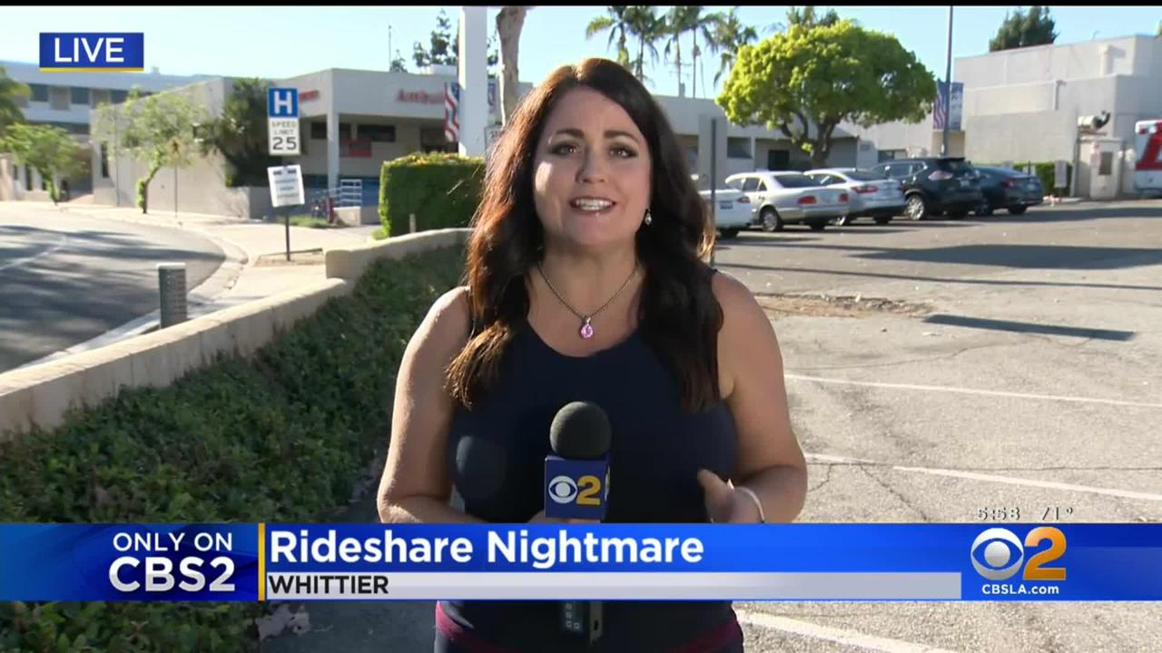 Only On CBS2: Lyft Driver Attacked By Passenger Picked Up From Whittier Hospital