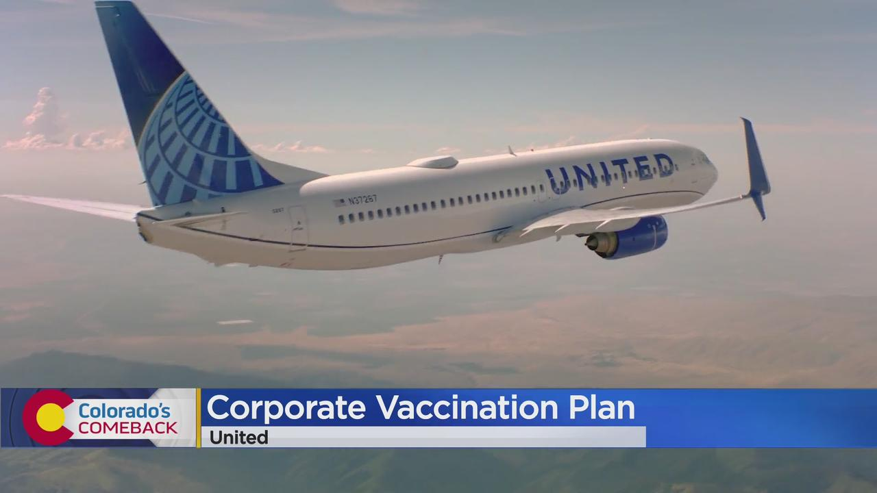 United Airlines Announces New Vaccination Plan