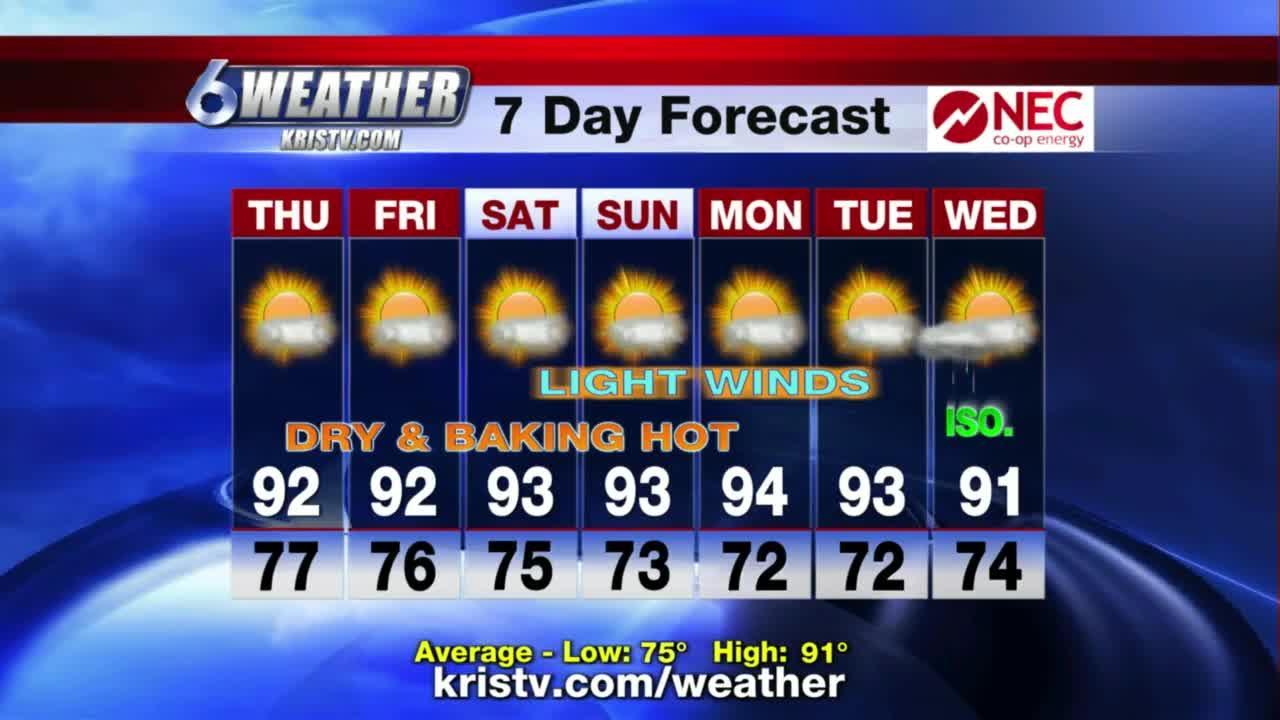 KRIS 6 News weather forecast 06/09/2021