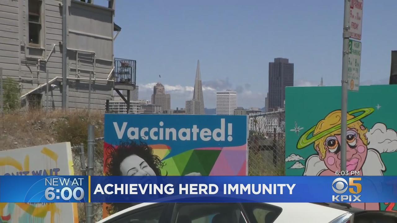 COVID: High Vaccine Rates Put San Francisco On Path To Herd Immunity