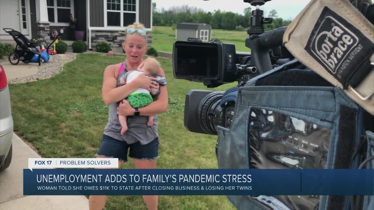 Unemployment adds to family's pandemic stress