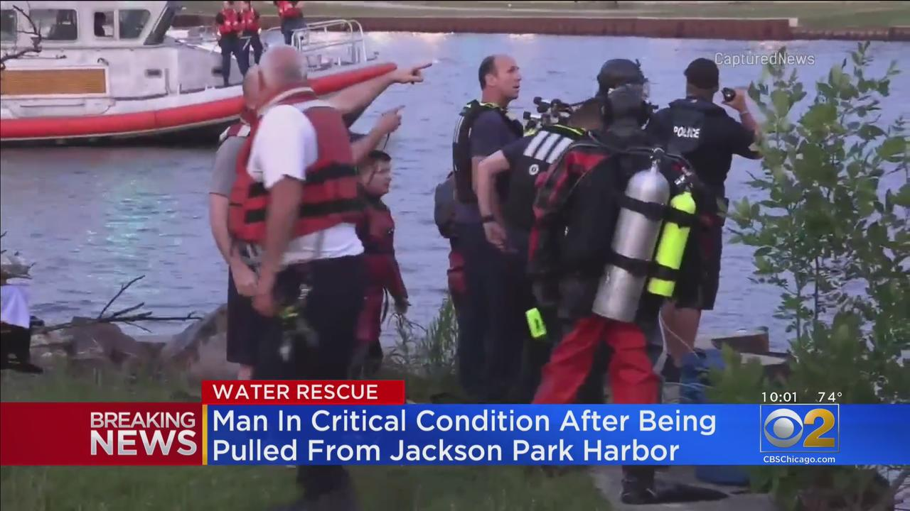 Man In Critical Condition After Being Pulled From Jackson Park Harbor