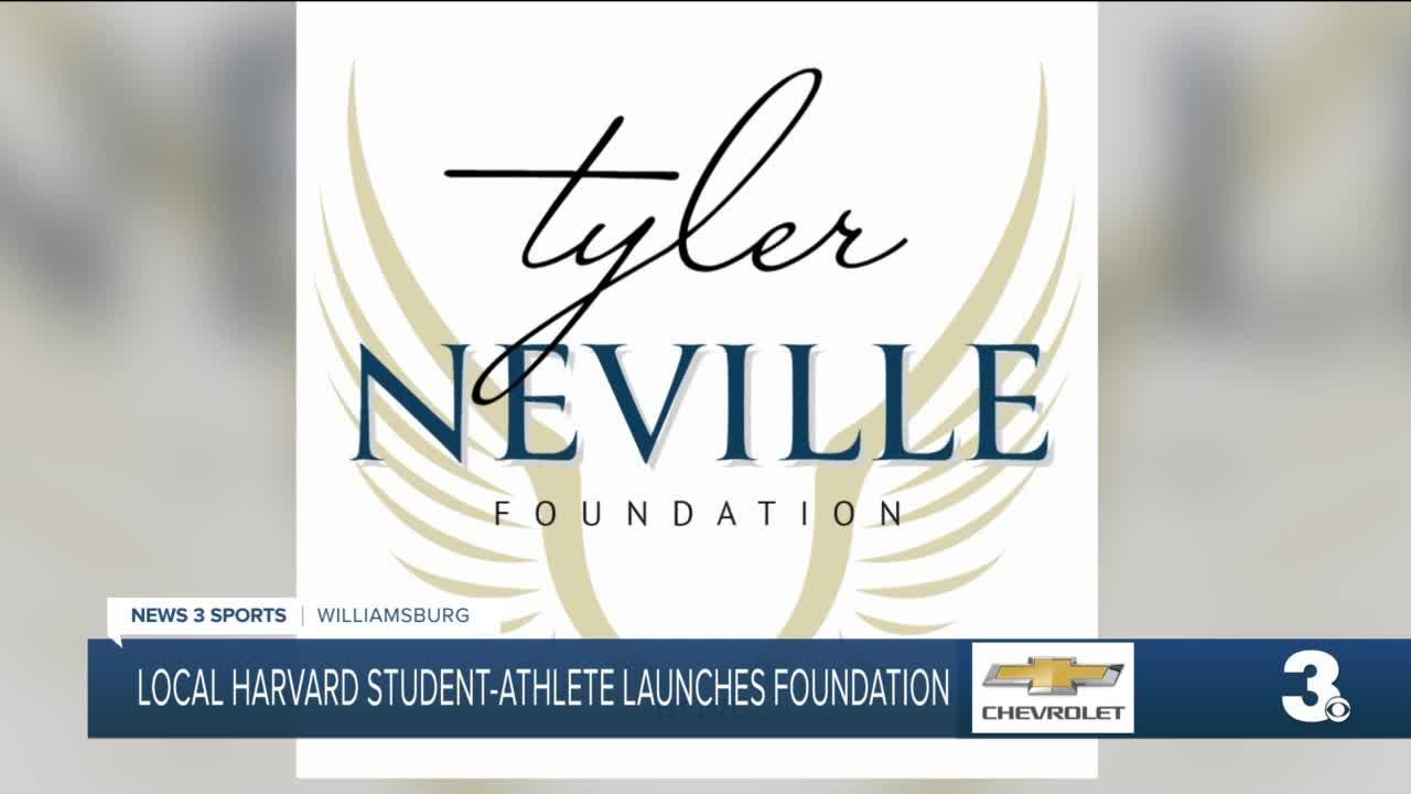 Harvard's Tyler Neville launches foundation
