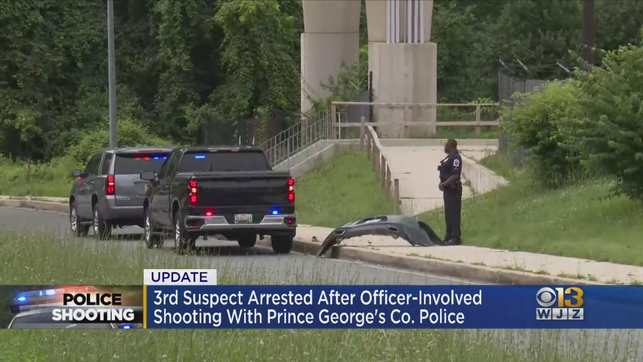 Third Suspect Arrested In Officer Involved Shooting In PG County