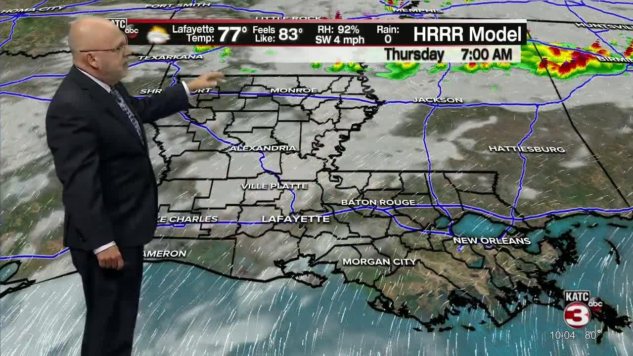 ROB'S WEATHER FORECAST PART 1 10PM 6-9-2021