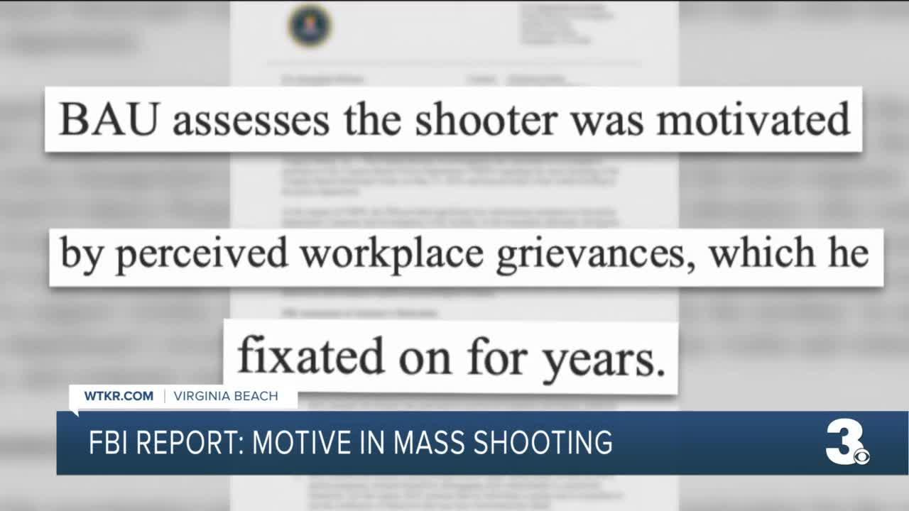 FBI report into Virginia Beach mass shooting released