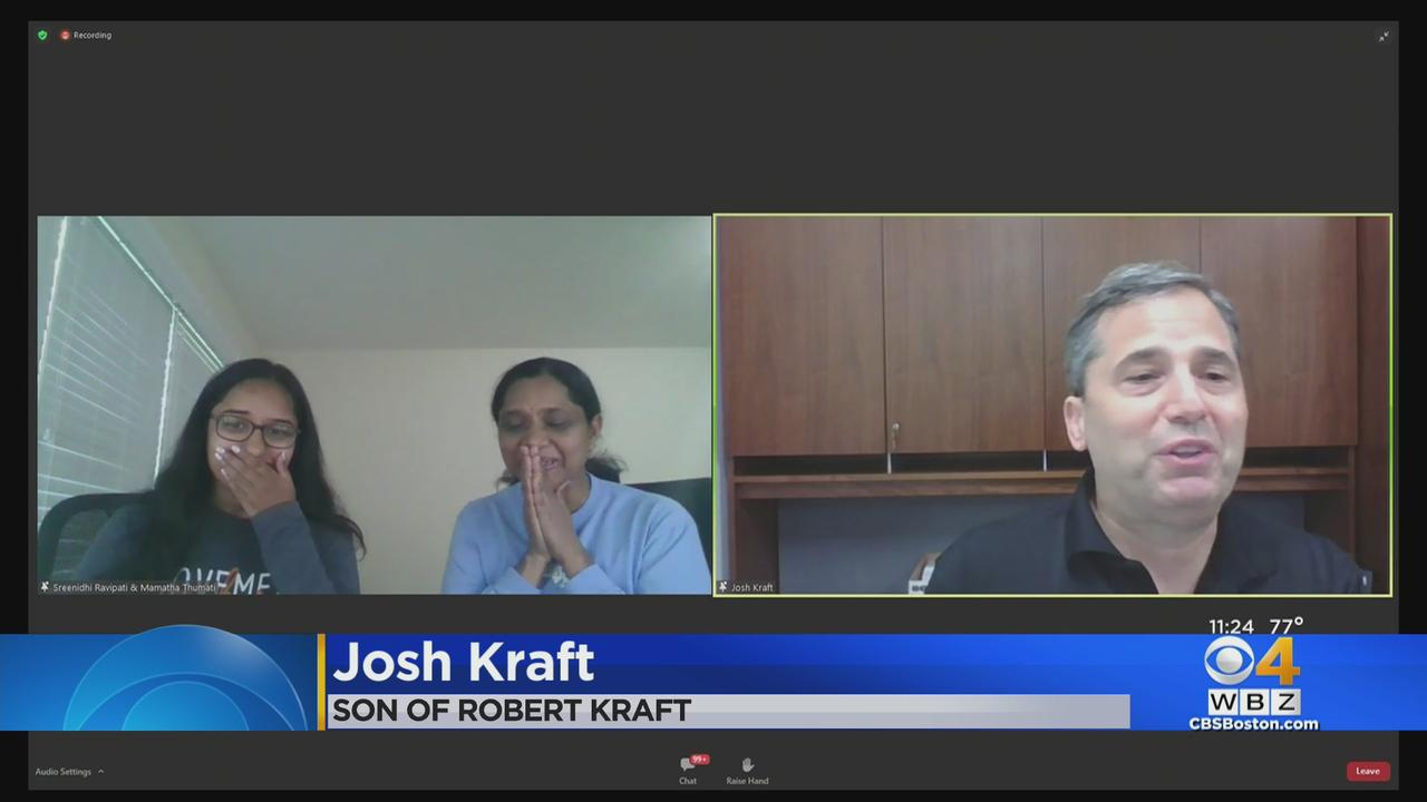Kraft Family And Project 351 Surprise Medway Senior With College Scholarship