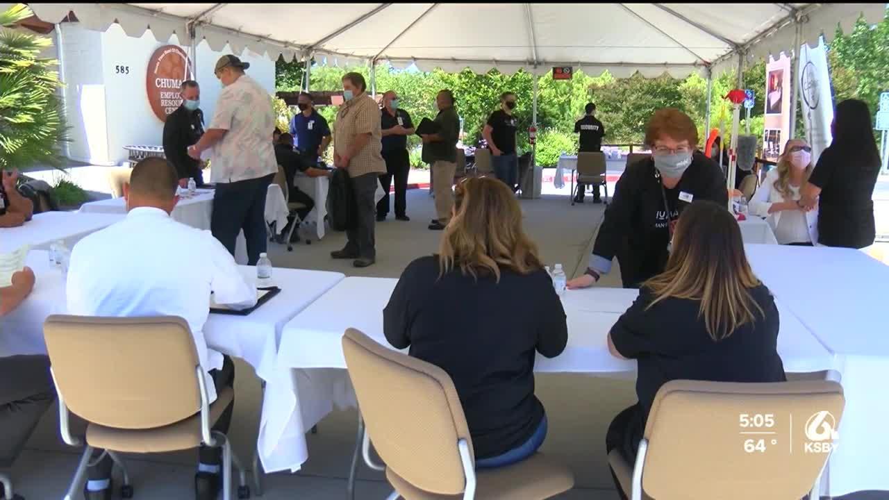 Chumash Enterprises hosts job fair