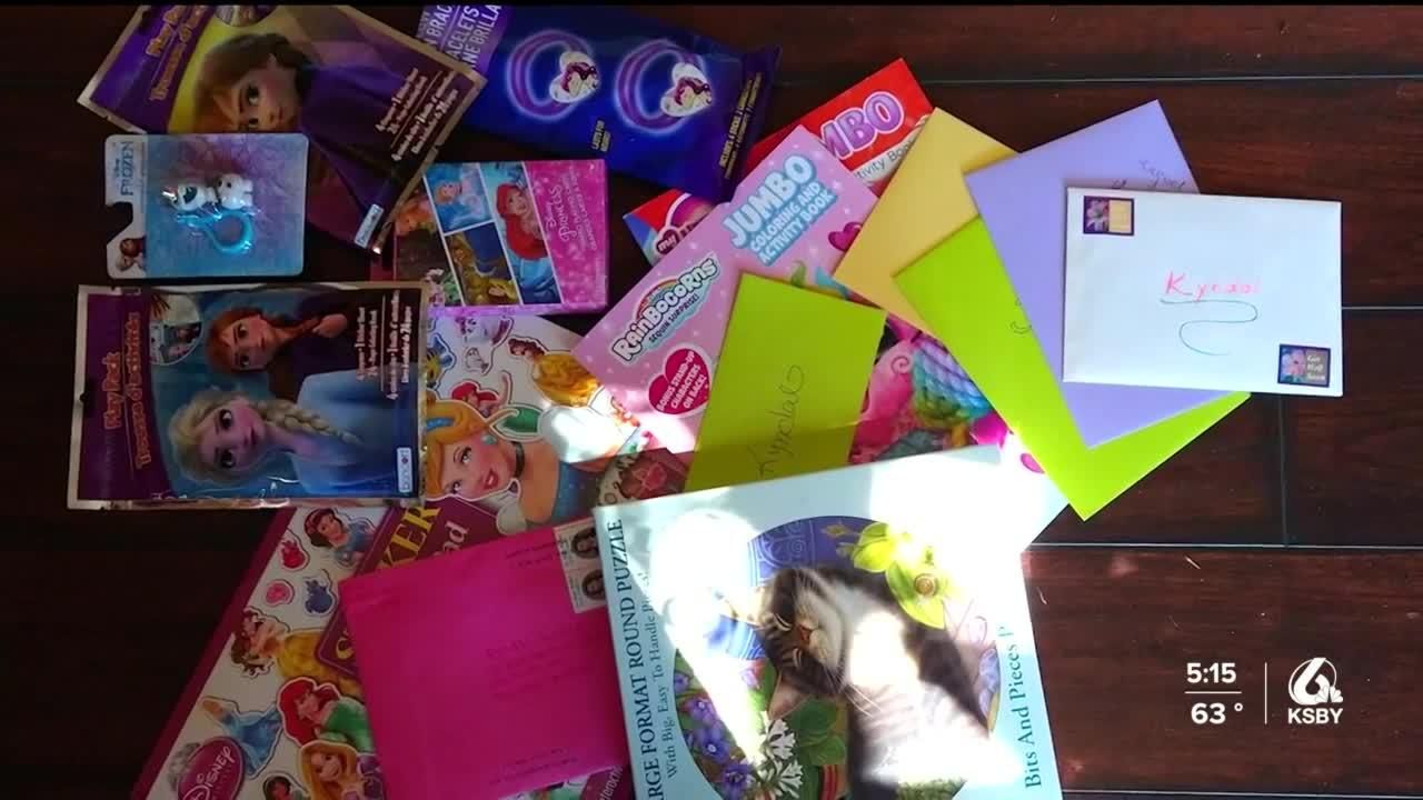 Local business owner sends letters and cards to five-year-old with cancer