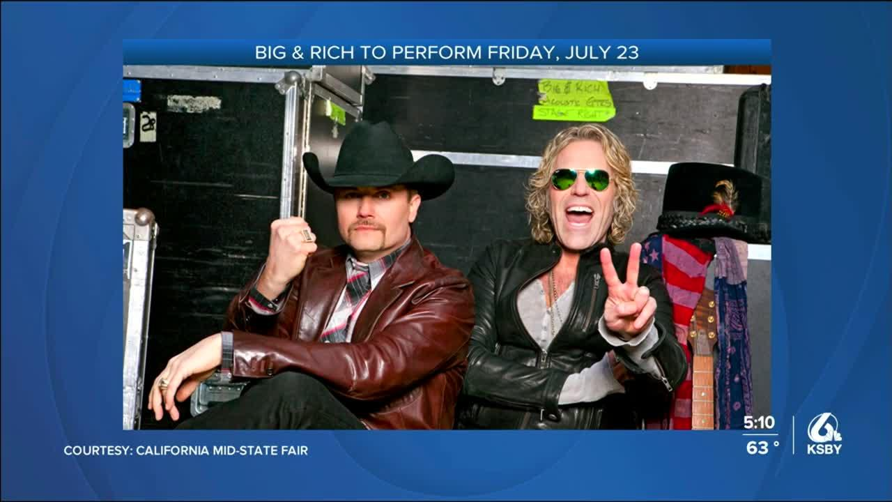 2 country music acts announced for Mid-State Fair