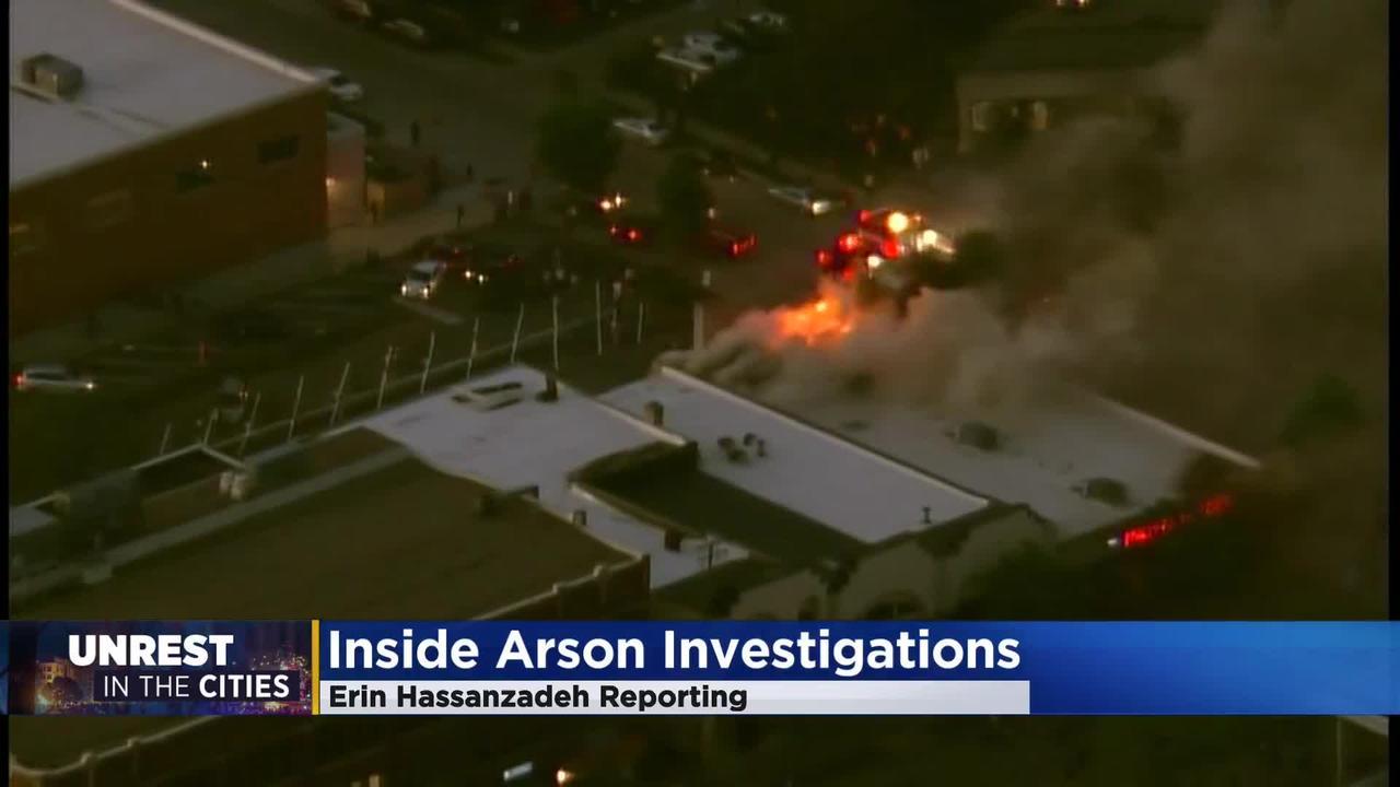 Unrest Arson Investigators Working Overtime