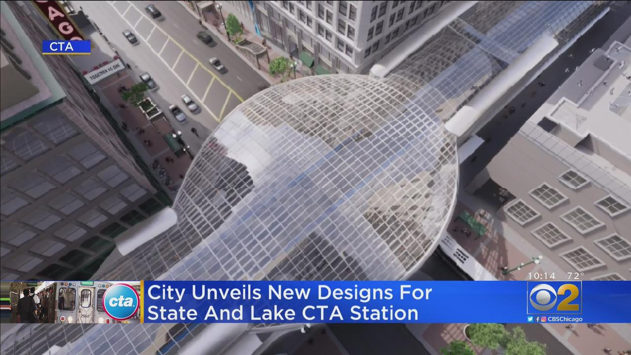 CTA, Mayor's Office Unveil Plans For New And Modernized State/Lake Loop 'L' Station