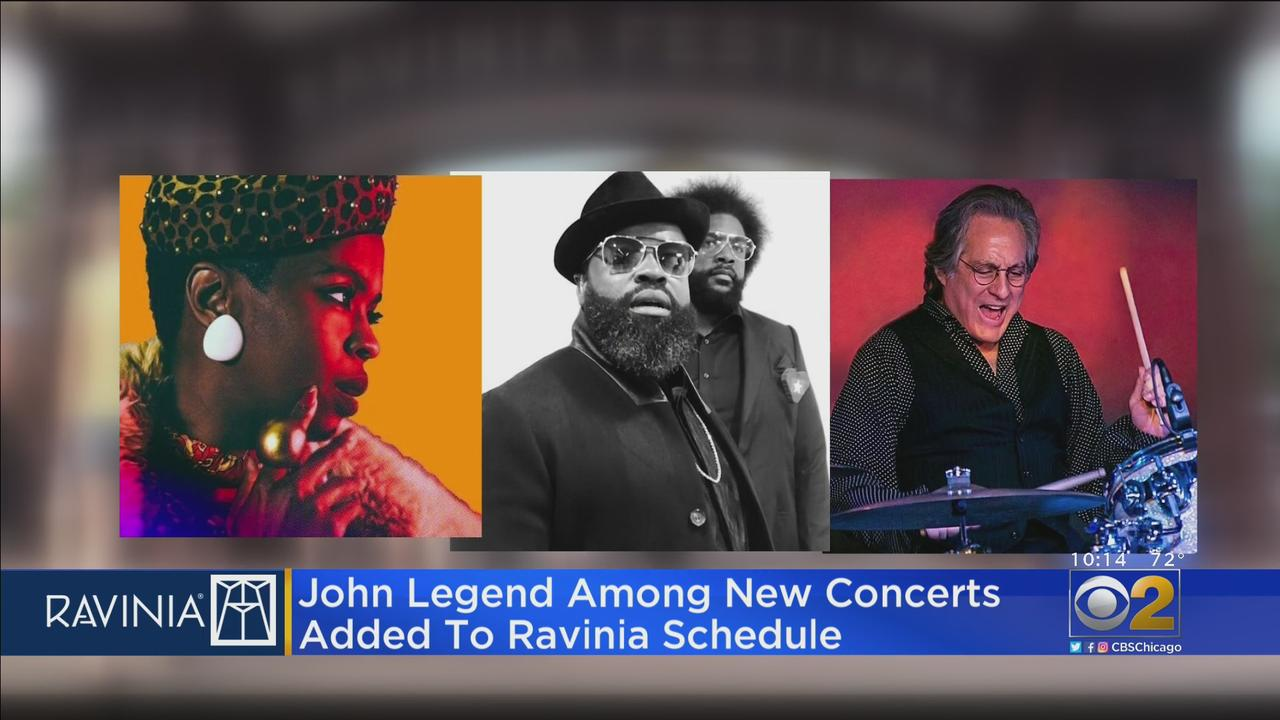 John Legend Among New Concerts Added To Ravinia Schedule