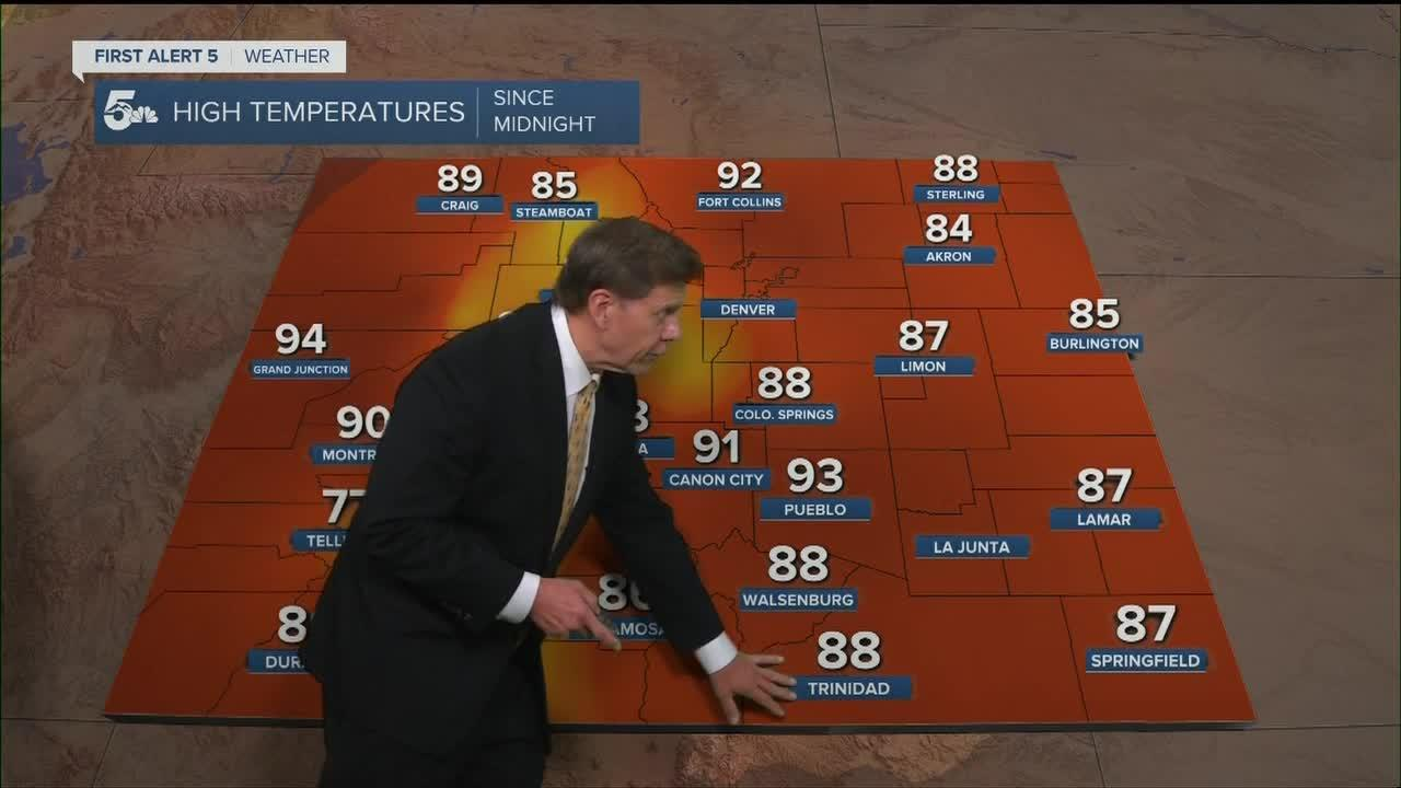 Thursday will be the hottest day of 2021 yet in Colorado