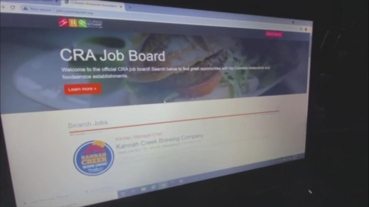 Restaurants Hope New Job Board Brings In Workers