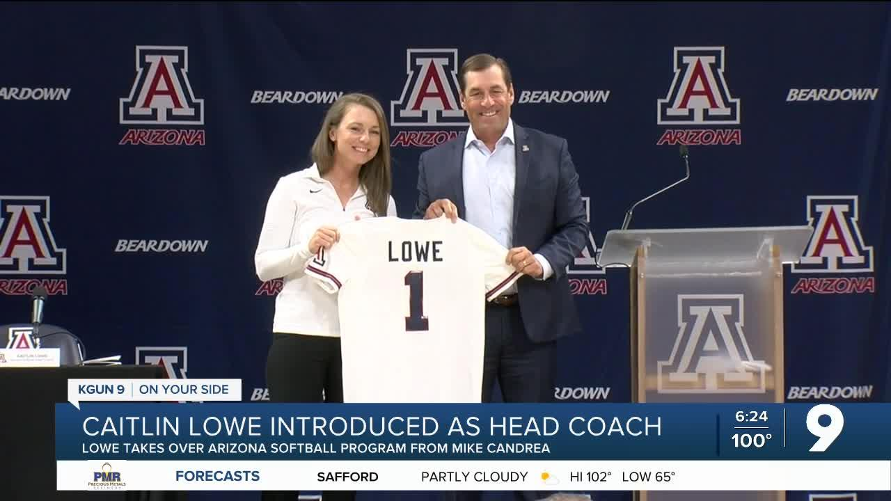 Caitlin Lowe introduced as Wildcat softball head coach