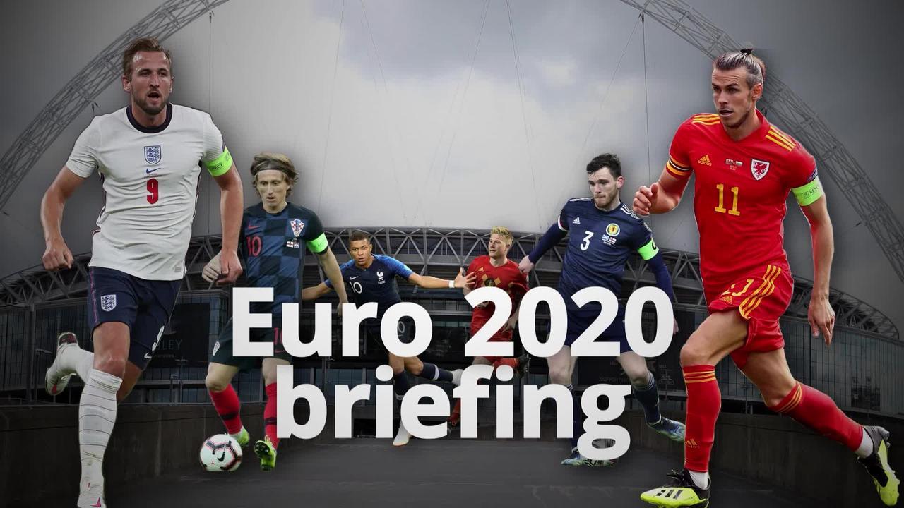 Countdown to Euro 2020: 1 dayto go