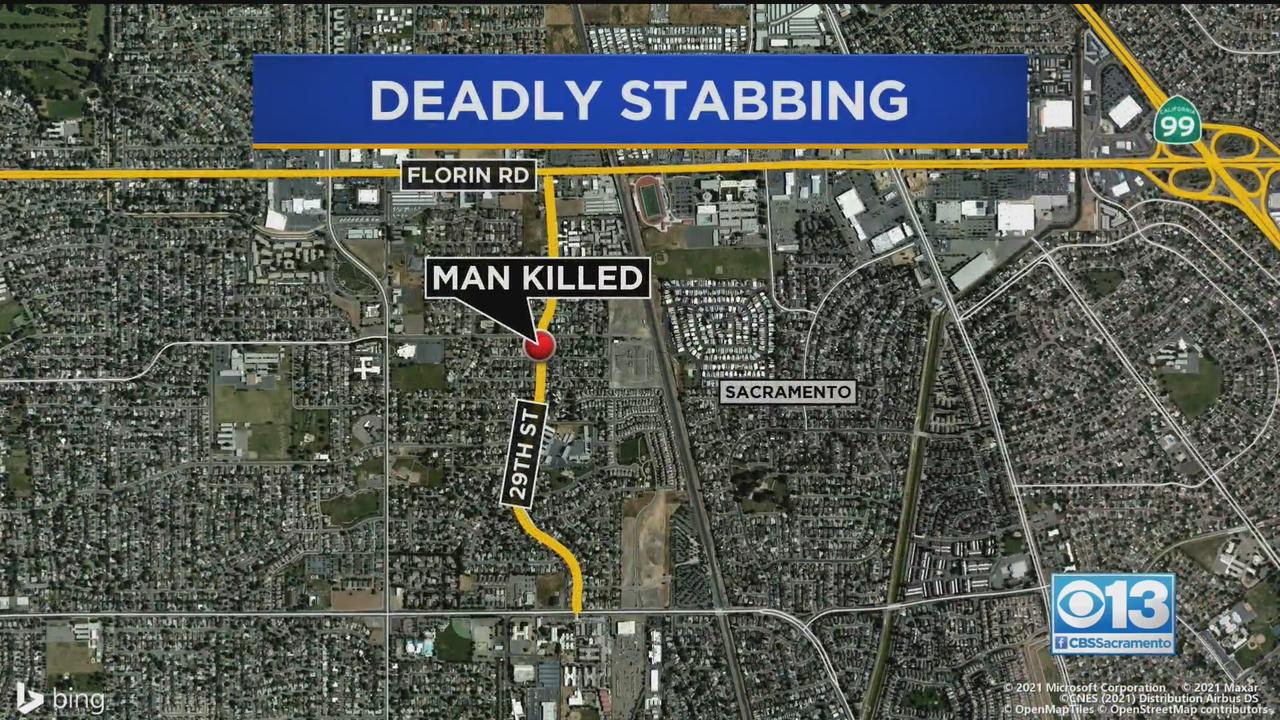 Man Stabbed To Death In South Sacramento