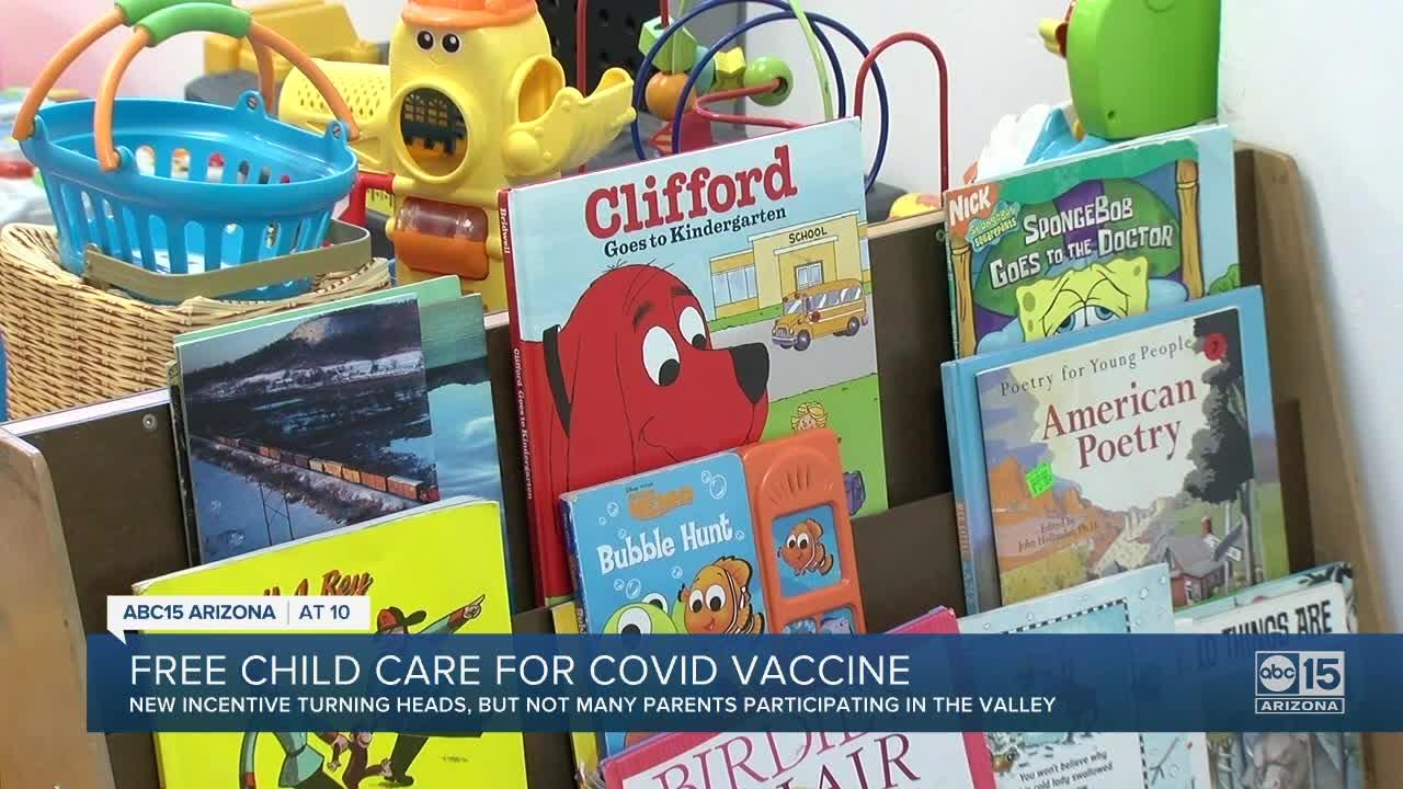 Valley YMCA offering free childcare as vaccine incentive