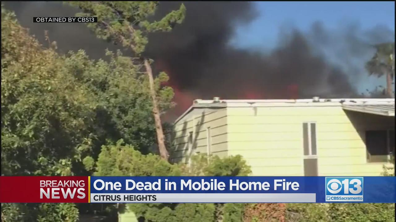 1 Dead In Citrus Heights Mobile Home Fire