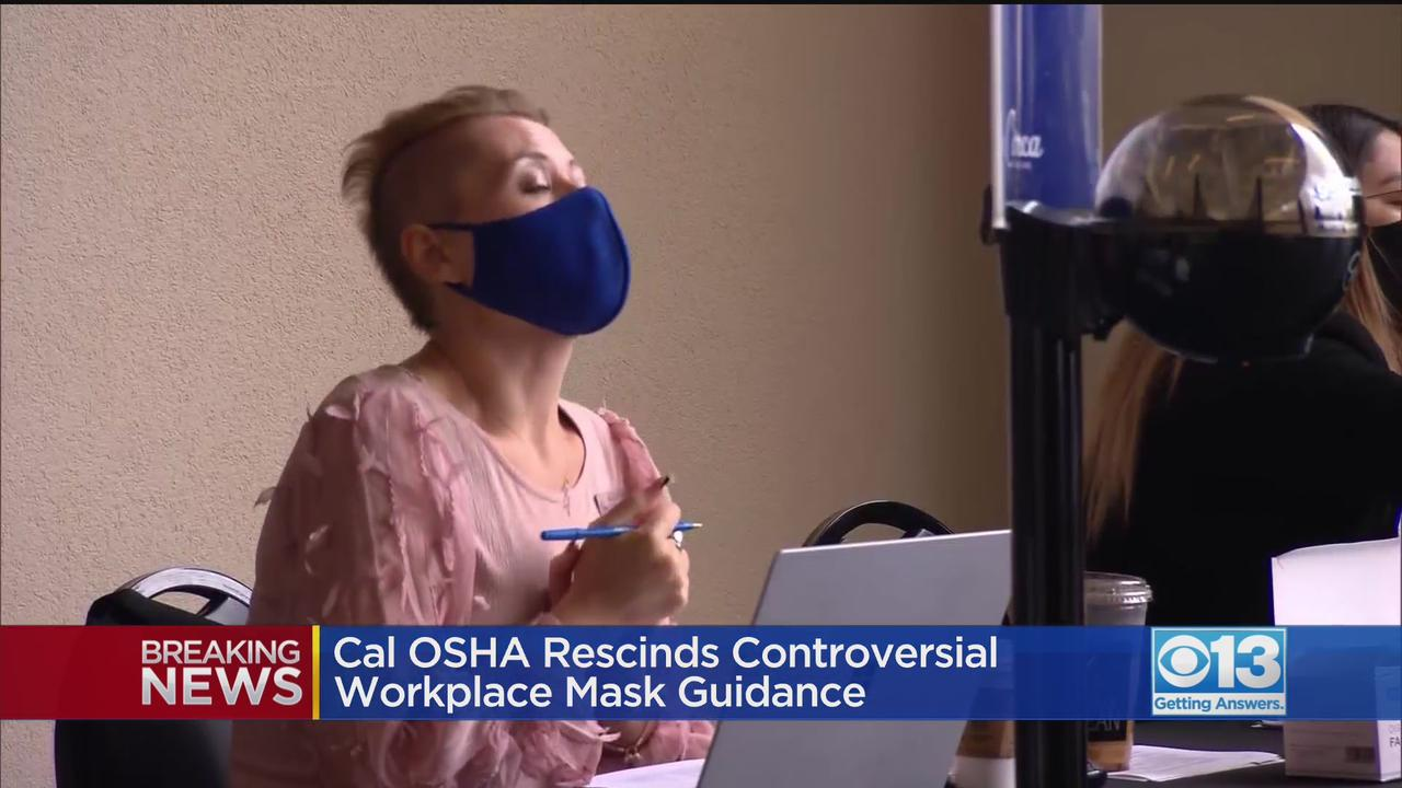 Cal OSHA Withdraws Controversial Mask Rules In The Workplace
