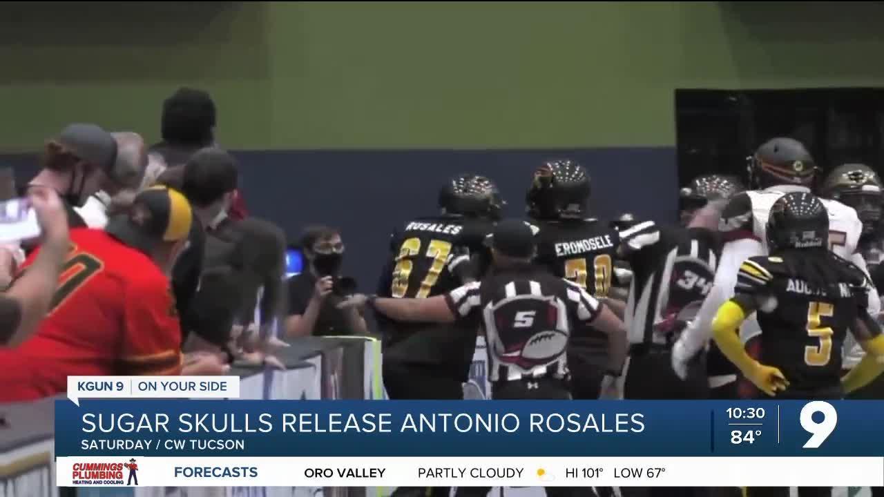 Sugar Skulls release Antonio Rosales