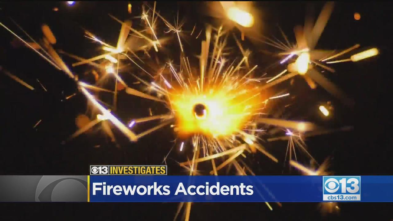 CBS13 Investigates: How Common Are Fireworks-Related Accidents?