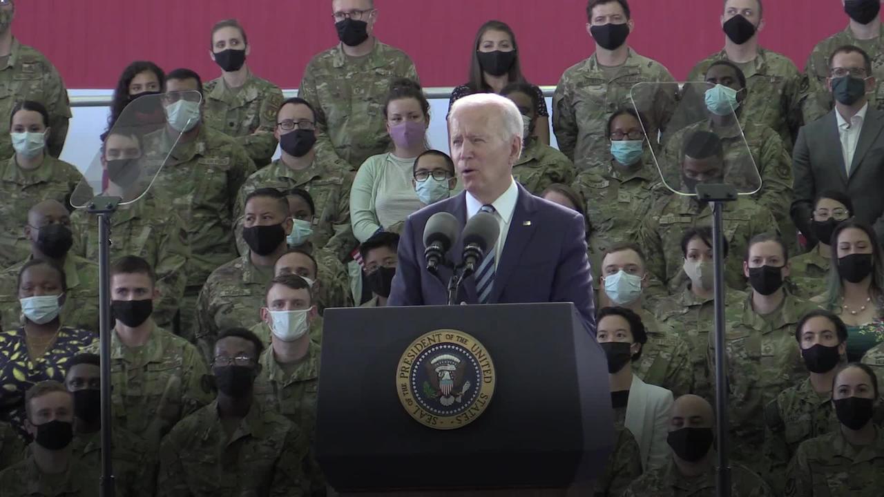 Biden warns Putin on first trip to UK as president