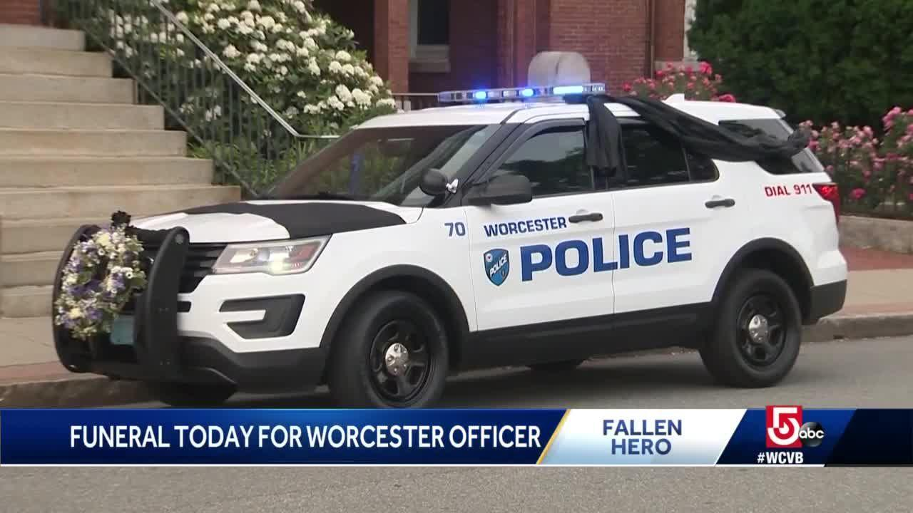 Services to be held for fallen Worcester police officer