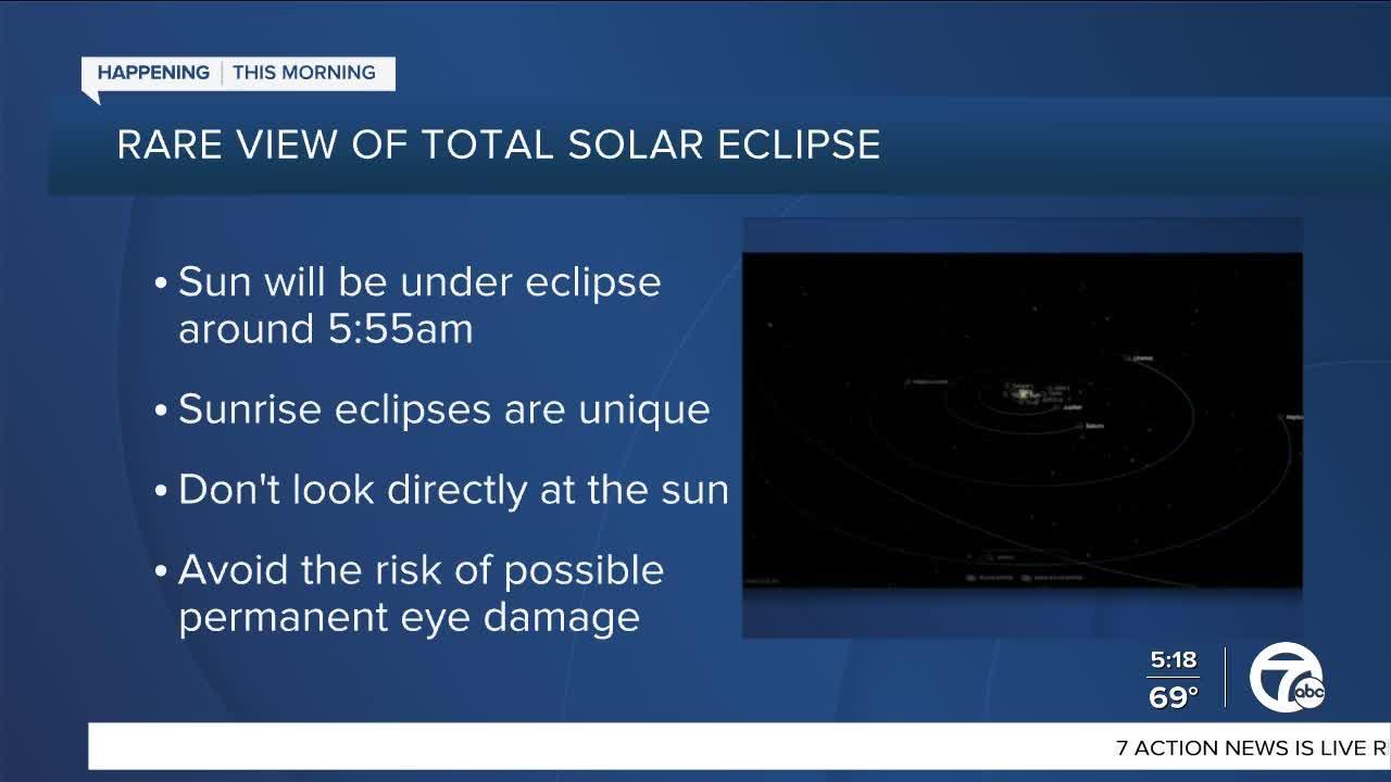 Metro Detroit prepares for solar eclipse