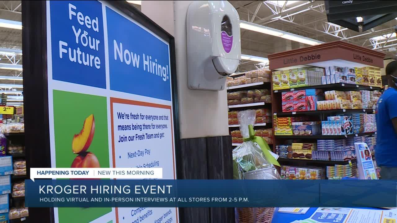 Kroger hiring event Thursday across Richmond