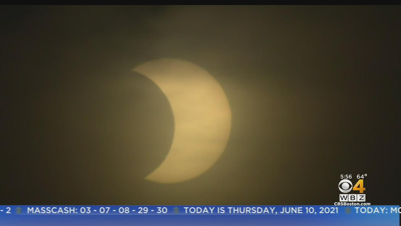 'Ring Of Fire' Solar Eclipse Seen Across Massachusetts Thursday Morning