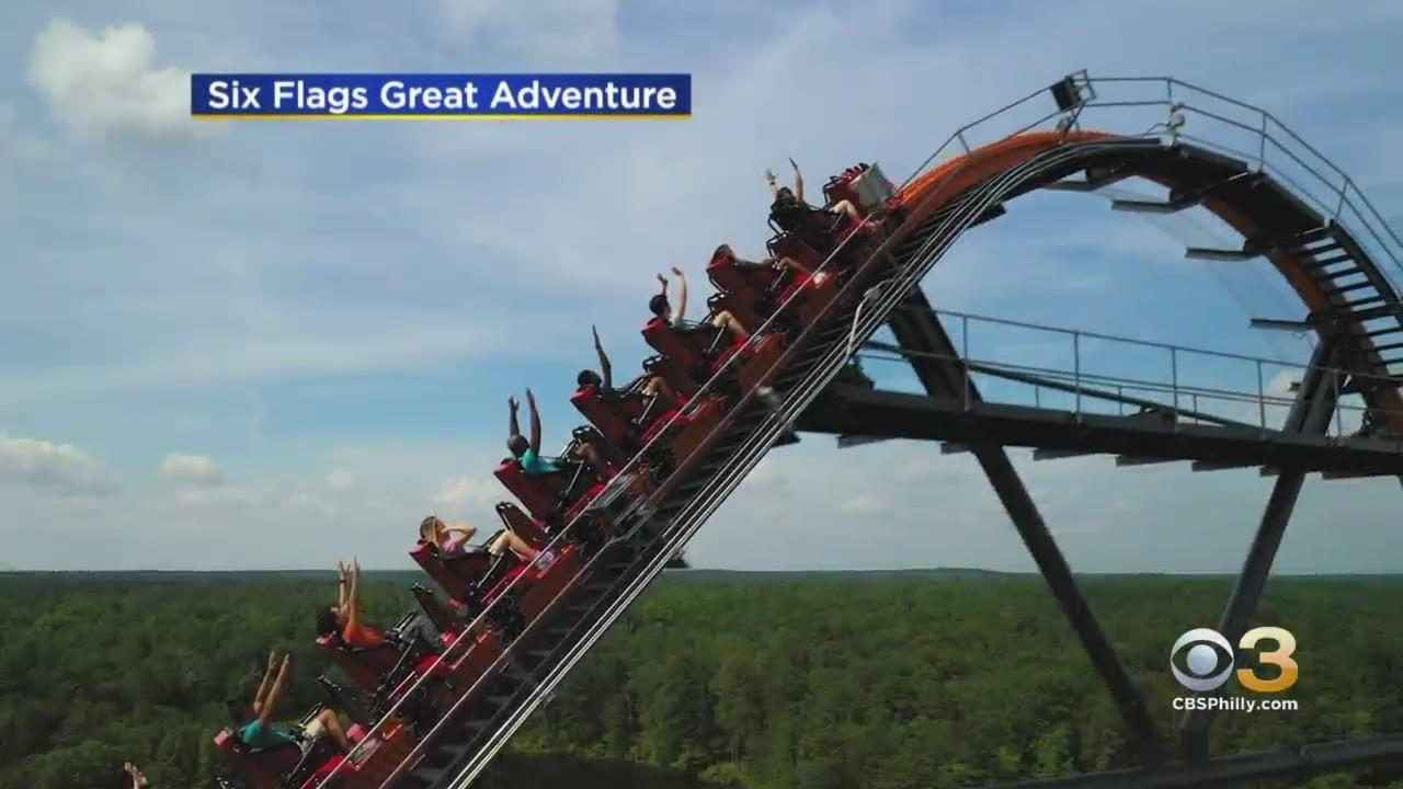 Six Flags Great Adventure Opens For The Season This Weekend With New Thrill Ride